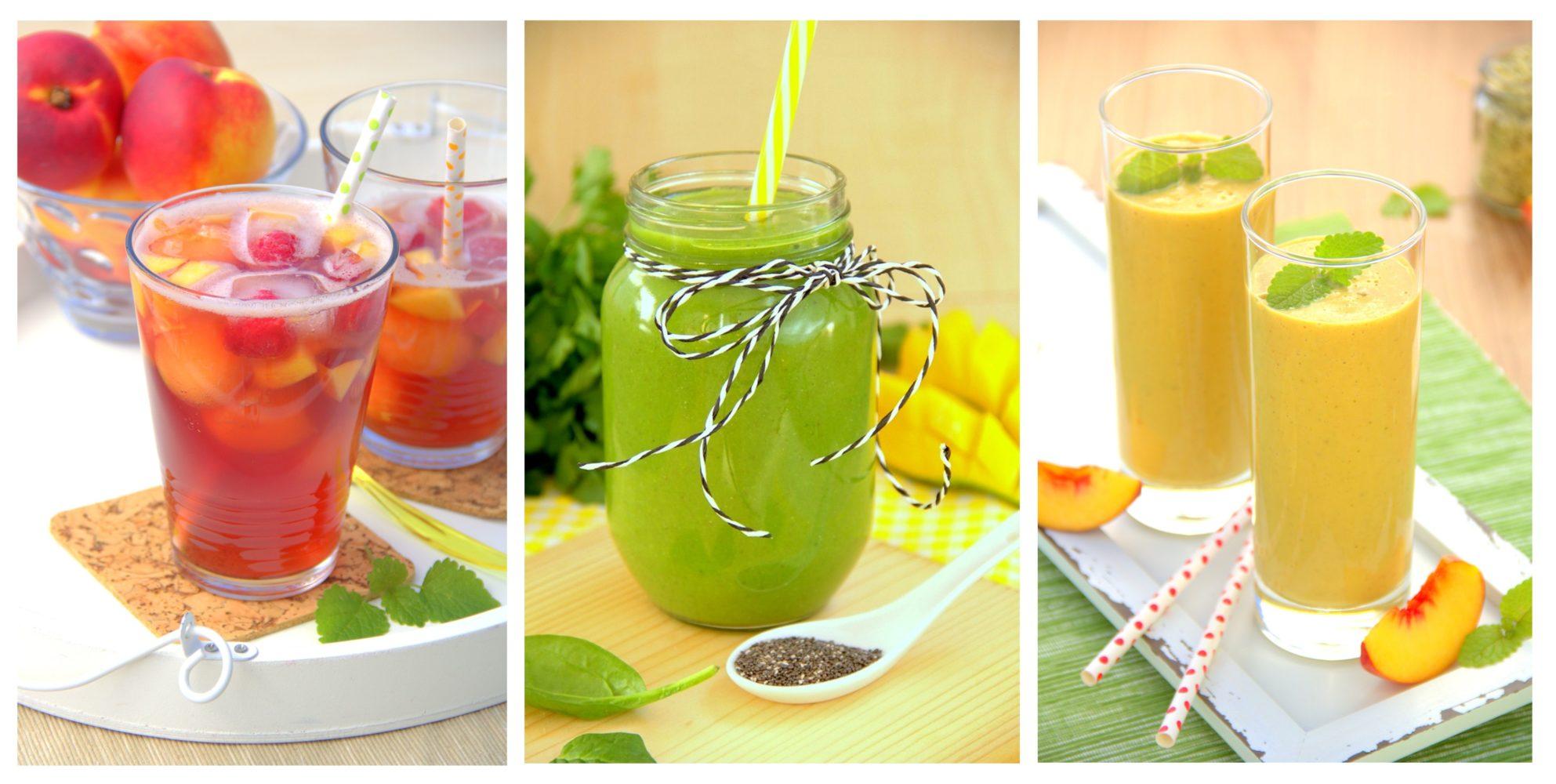 vegane gesunde Smoothies Rezepte zum selber machen Drinks ohne Soja