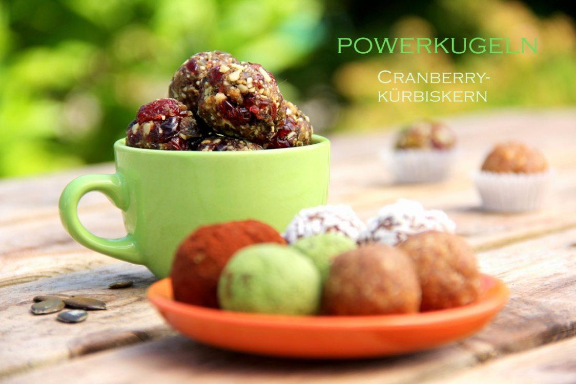 Powerkugeln Energiebällchen Blissballs Bliss Balls vegan glutenfrei gesund snacken zuckerfrei naschen