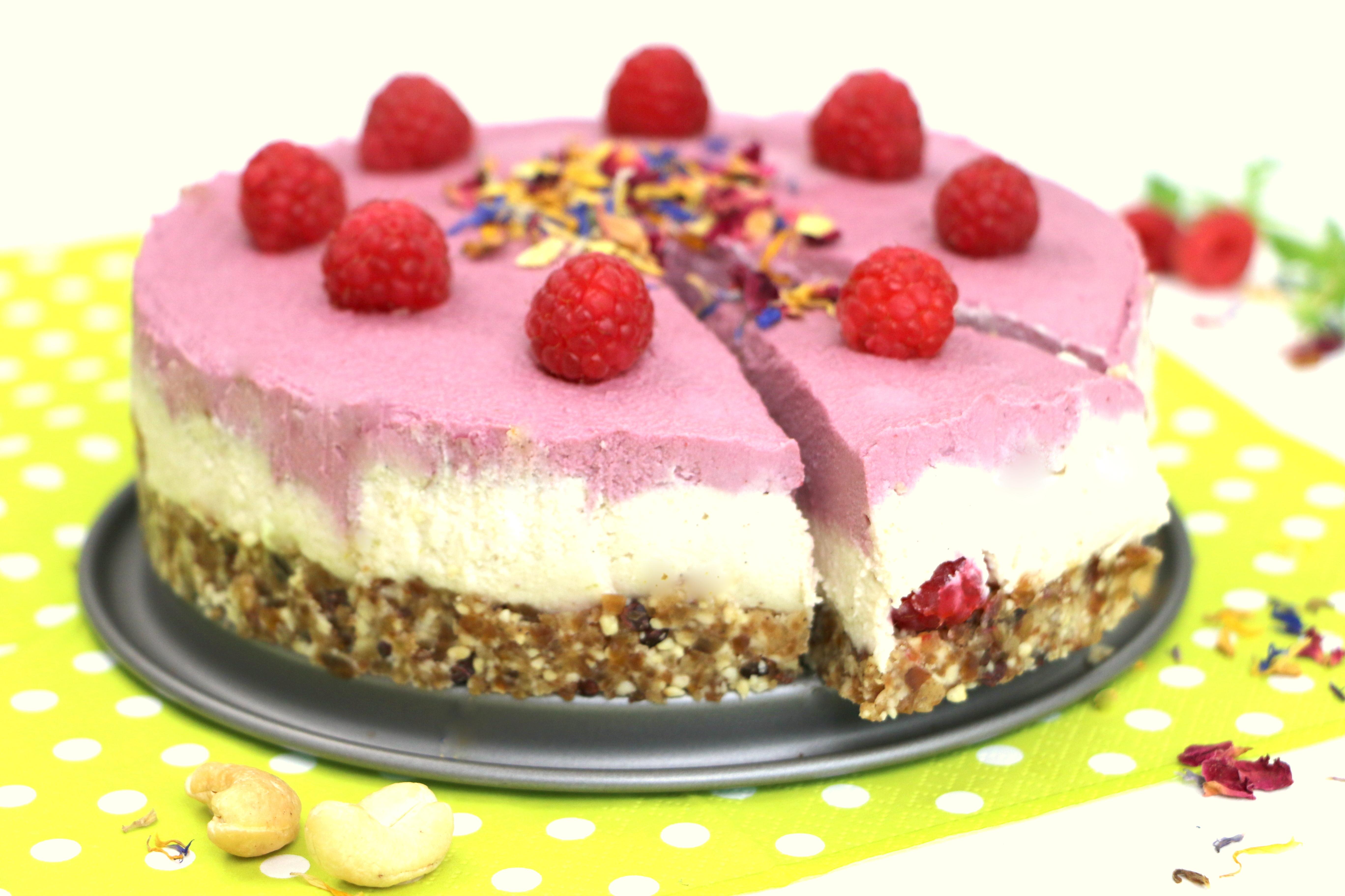 Pink Raspberrydream ~ Rohkosttorte