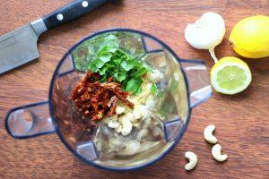 Cashewaufstrich vegan glutenfrei Brotaufstrich Nudelsauce