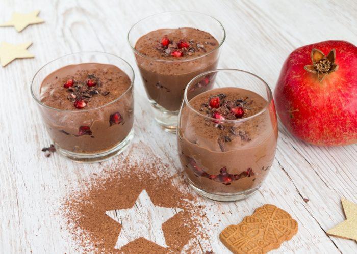 vegane Desserts Schichtspeisen vegane Dessertrezepte ohne Soja und ohne Zucker