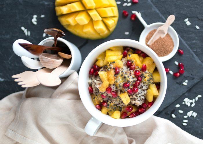 Macadamia-Mohn-Milchreis