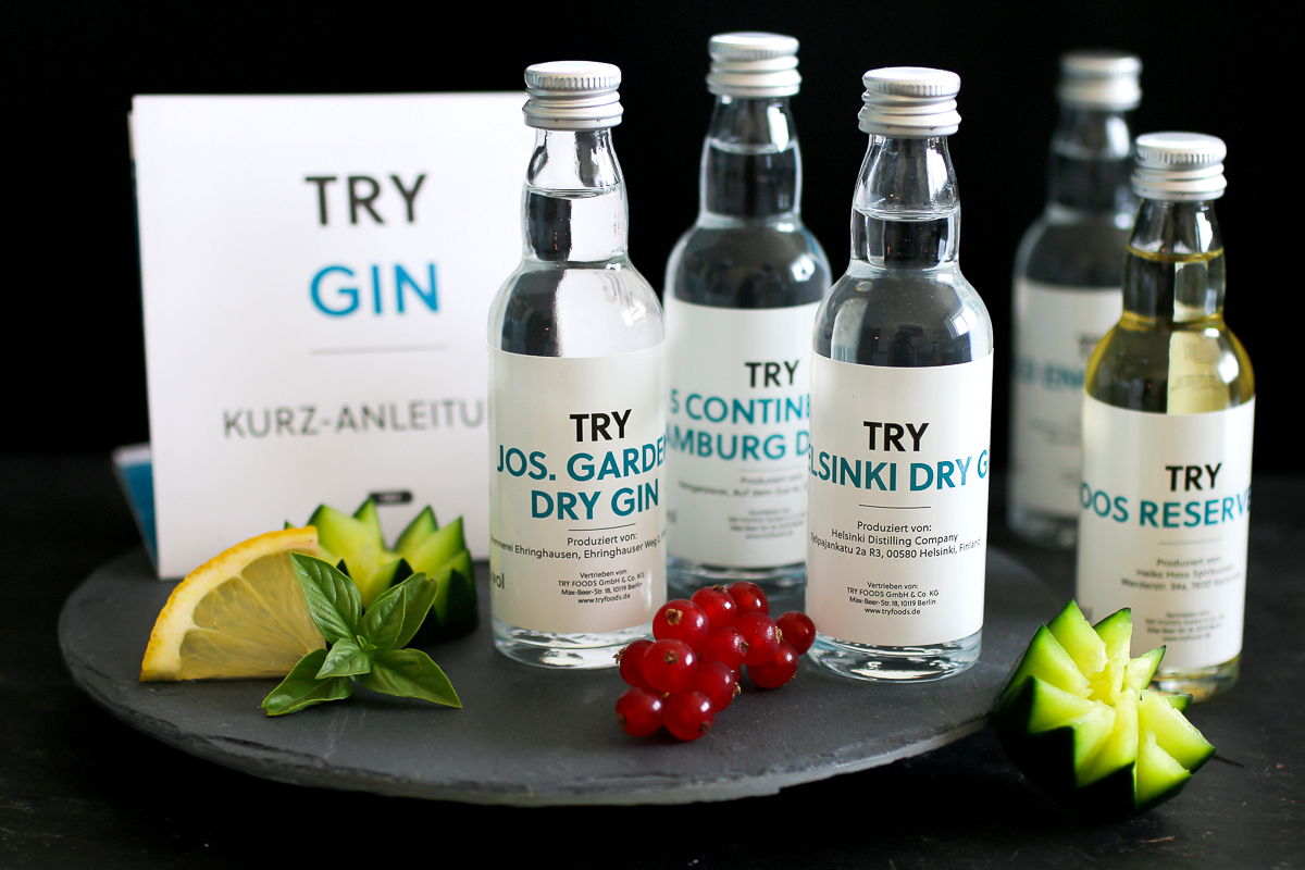 Gin-Verkostung von TRY FOODS: Wie ich meinen Liebling gefunden habe
