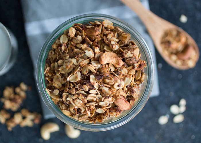 crunchy Granola, Zimt-Müsli