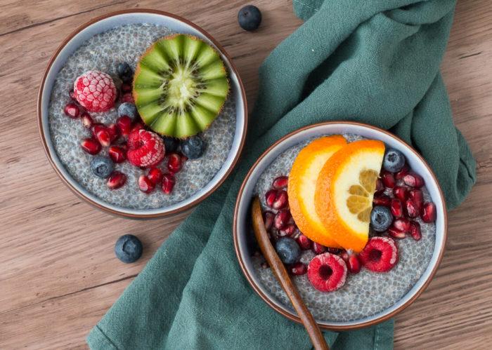 Chiapudding - Frühstück Basisrezept vegan glutenfrei