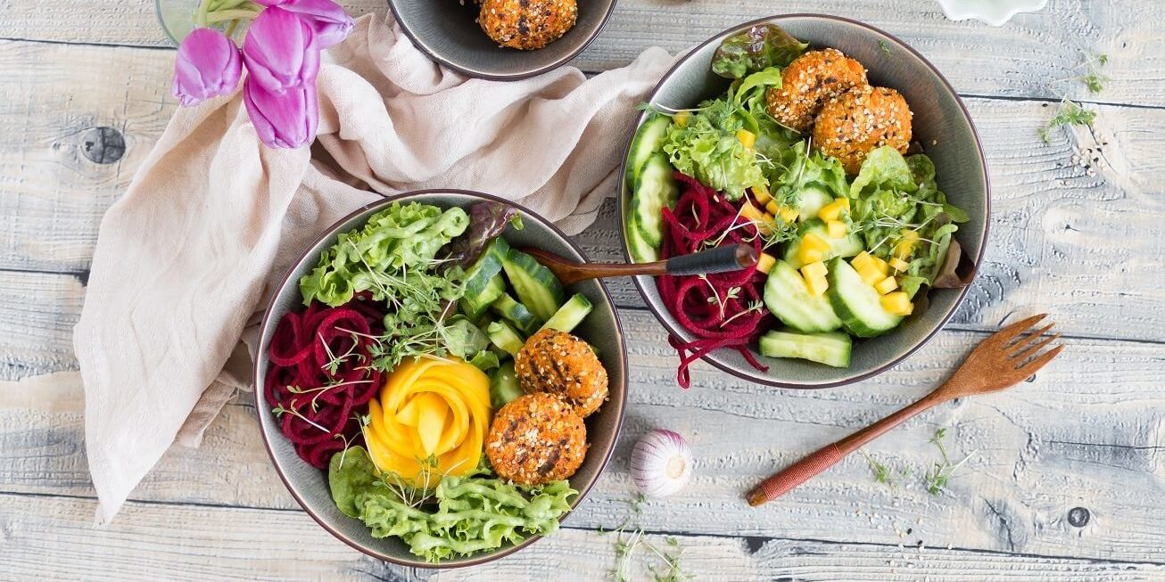 Möhren-Haferplätzchen Dinner Lunch vegan Rezepte